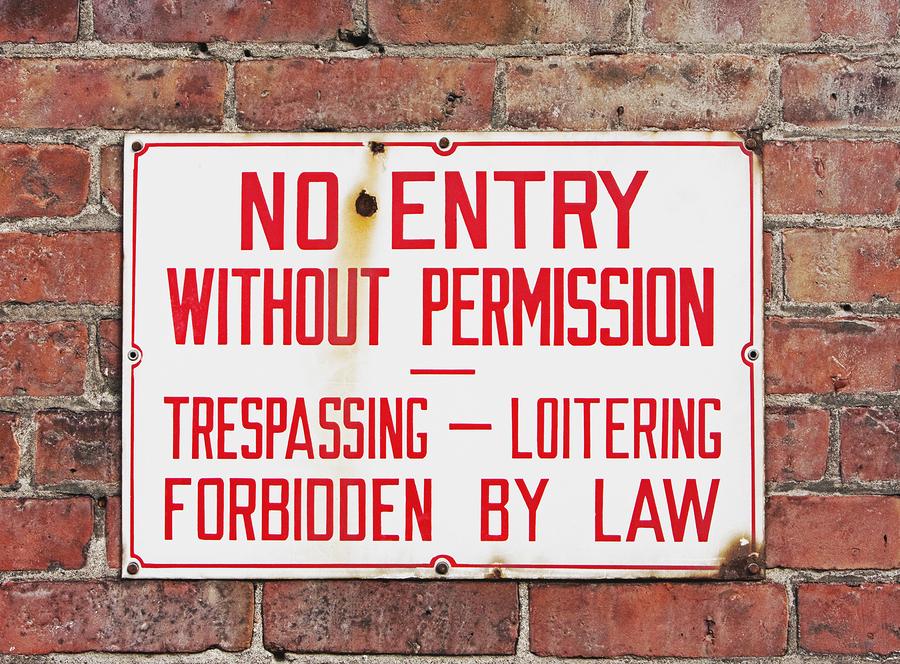 Disorderly Conduct-Trespassing